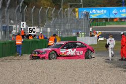 Susie Stoddart, Persson Motorsport, AMG Mercedes C-Klasse crashed