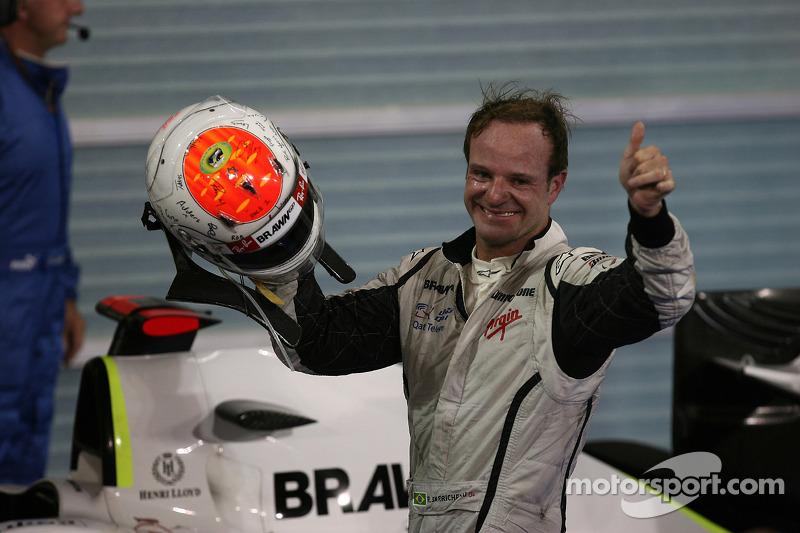 2009 - Prova marcou a despedida da Brawn GP, de Rubens Barrichello