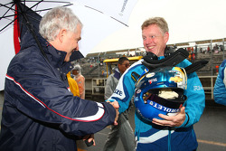 Andreas Bellu and Eric Neve, Chevrolet Europe Motorsport Manager