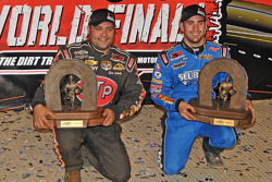 Donny Schatz and World of Outlaws Late Model Series champion Josh Richards