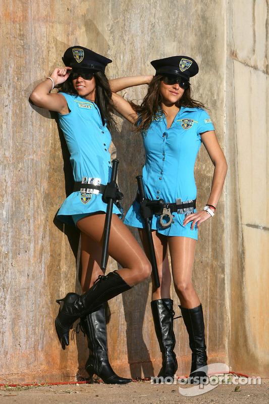 Chicas Rizla Suzuki MotoGP