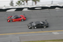 #77 Doran Racing Ford Dallara: Memo Gidley, Brad Jaeger, Michel Jourdain and #90 Spirit of Daytona Racing Porsche Coyote: Antonio Garcia, Buddy Rice
