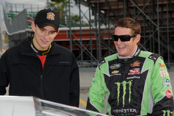 James  Buescher and Ricky Carmichael