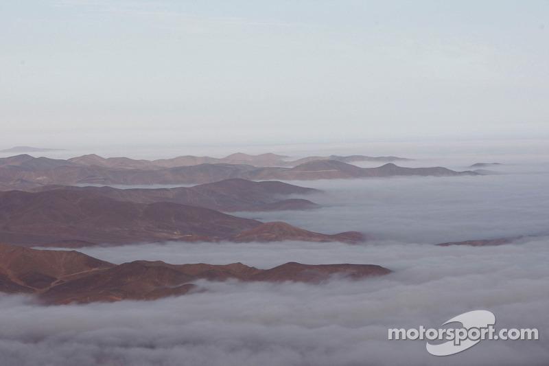 Vista espectacular entre Copiapo y Antofagasta