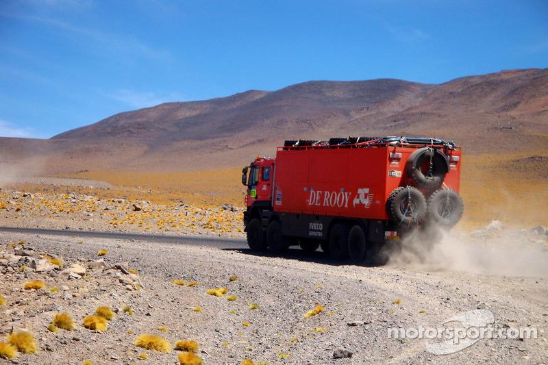 Camion assistance du Team De Rooy