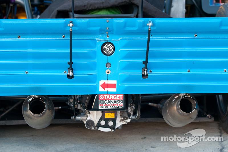 Chip Ganassi Racing avec Felix Sabates BMW Riley (détail)