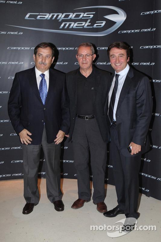 Adrian Campos poses with Jose Ramos Carabante