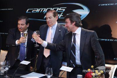 Campos Meta F1 Team presentation