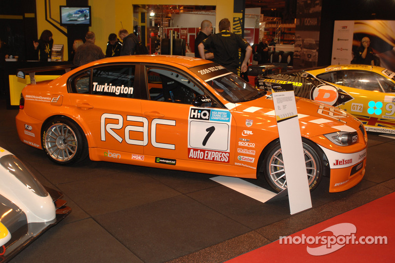 Colin Turkingtons 2009 BTCC winnende Team RAC BMW