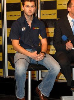 Andrew Jordan op de Dunlop sten