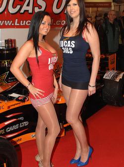 Lucas Oil Promo girls