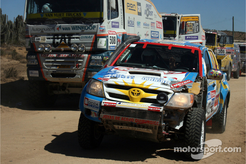 #423 Toyota: Amilcar Rubinetti Cristian et Kent Walter