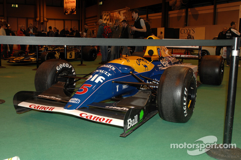 Williams F1 1992 victorieuse de Nigel Mansell
