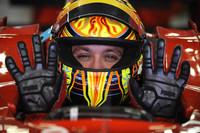 Valentino Rossi test de Ferrari F2008
