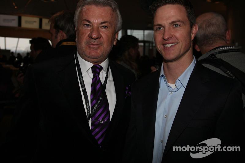 Ralj Schumacher et Willi Weber
