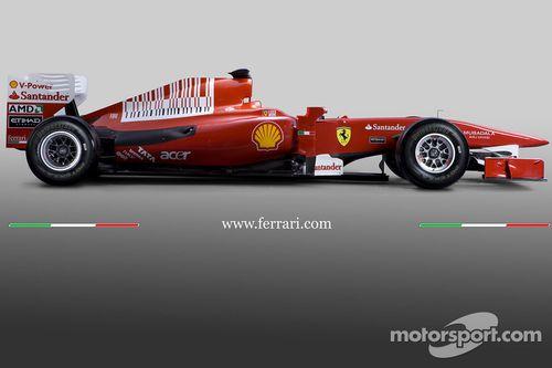 Présentation de la Ferrari F10