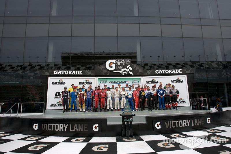 Photo de groupe des Champions