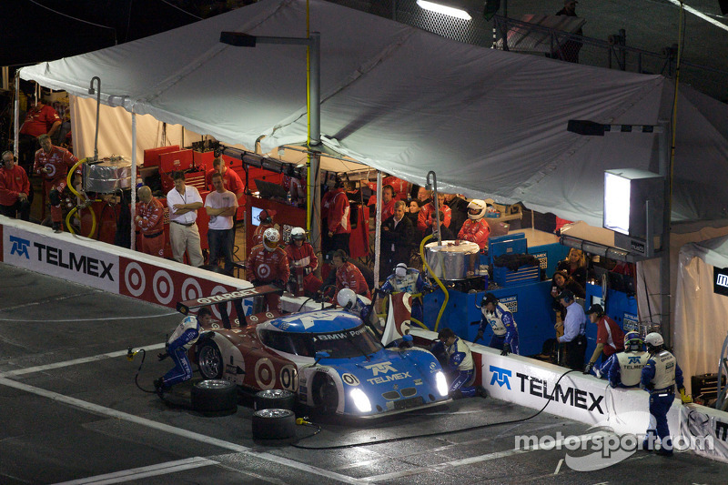 Pitstop #01 Chip Ganassi Racing with Felix Sabates BMW Riley: Max Papis, Scott Pruett, Memo Rojas, J
