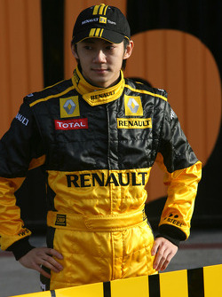 Ho-Pin Tung, Test Driver, Renault F1 Team