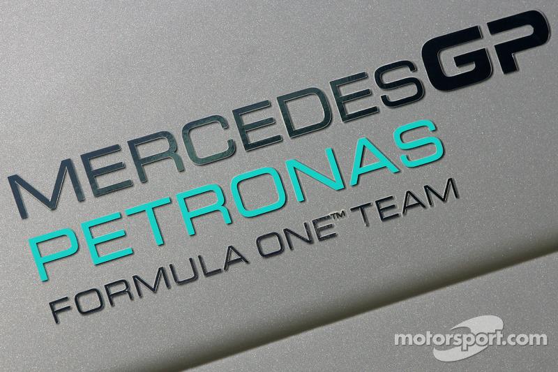 Logo Mercedes GP