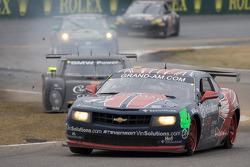 #57 Stevenson Motorsports Camaro GT.R: Andrew Davis, Robin Liddell, Jan Magnussen and #55 Crown Roya