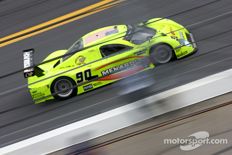 #90 Spirit of Daytona Racing Porsche Coyote: Antonio Garcia, Paul Menard, Buddy Rice