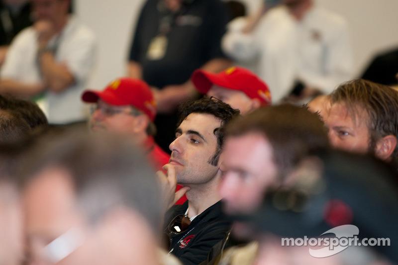 Rencontre des pilotes: Dario Franchitti