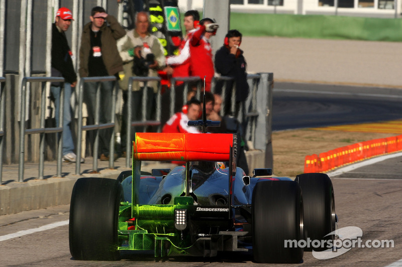 McLaren lideró la pretemporada 2010