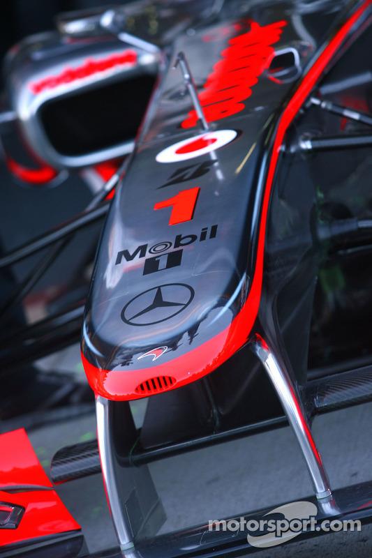 McLaren Mercedes voorvleugel