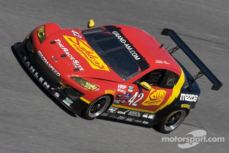 #42 Team Sahlen Mazda RX-8: Joe Nonnamaker, Wayne Nonnamaker, Will Nonnamaker, Joe Sahlen