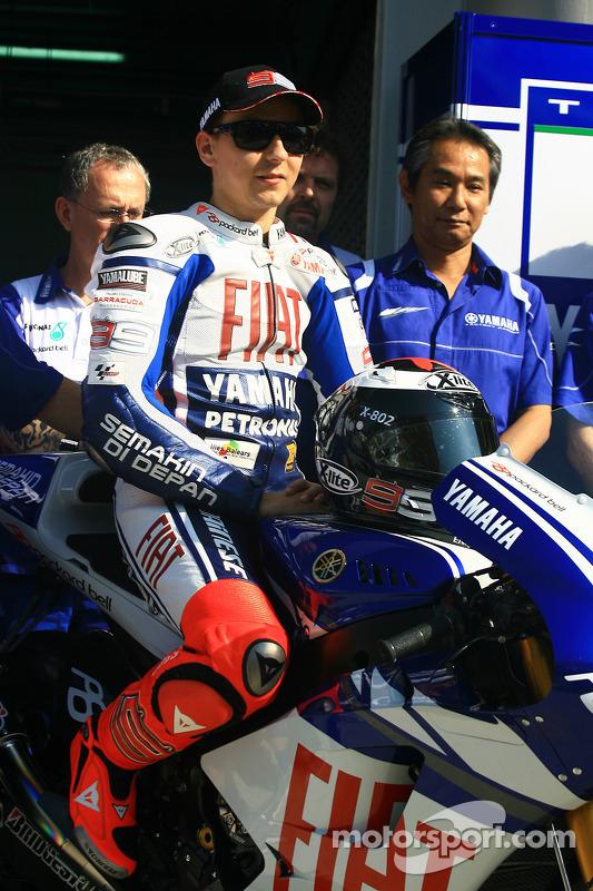 Jorge Lorenzo van Fiat Yamaha Team