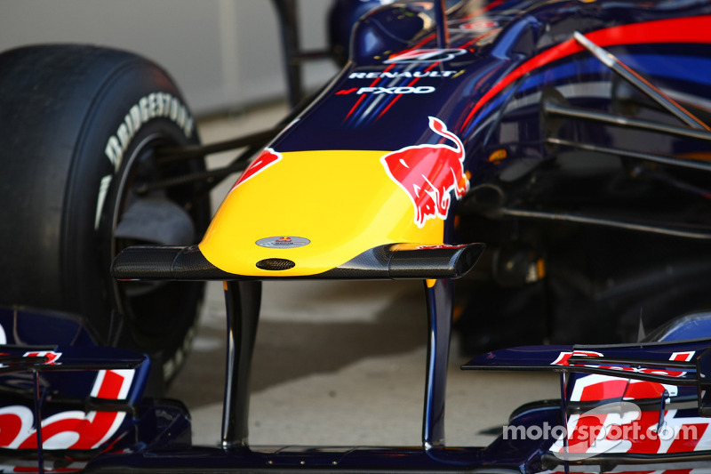 The new Red Bull RB6, nose cone
