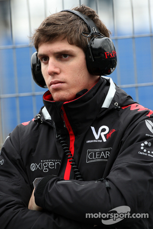Luiz Razia, Testrijder Virgin Racing