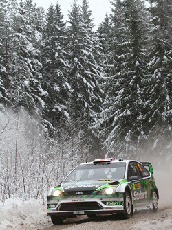 Matthew Wilson en Scott Martin, Ford Focus RS WRC 08, Stobart VK M-Sport Ford Rally Team