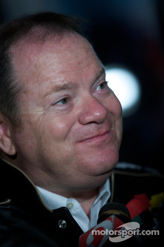 Champion's breakfast: team owner Chip Ganassi