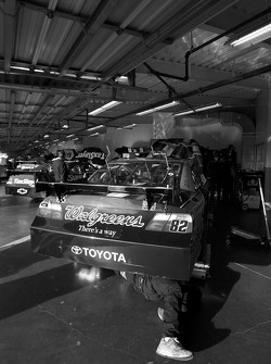 Red Bull Racing Team Toyota garage area