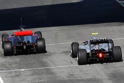 Lewis Hamilton, McLaren Mercedes, Michael Schumacher, Mercedes GP Petronas