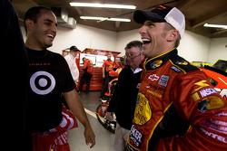 Juan Pablo Montoya, Earnhardt Ganassi Racing Chevrolet and Jamie McMurray, Earnhardt Ganassi Racing Chevrolet