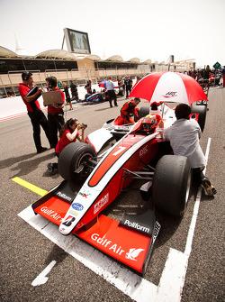 Jules Bianchi en pole position sur la grille de départ