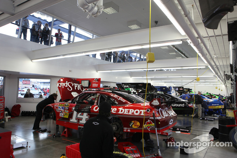 Stewart-Haas Racing Chevrolet garage
