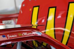 Detail van de auto van Jamie McMurray, Earnhardt Ganassi Racing Chevrolet