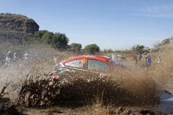 Federico Villagra en Jorge Perez Companc, Ford Focus RS WRC08, Munchi's Ford World Rally Team