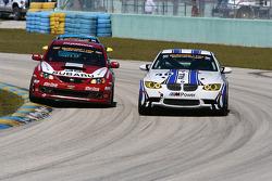 #35 Subaru Road Racing Team Subaru WRX-STI: Andrew Aquilante, Bret Spaude; #46 Fall-Line Motorsports BMW M3 Coupe: Eric Curran, Andy Pilgrim