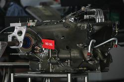 Gear box detail, Renault F1 Team