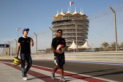 Bruno Senna, Hispania Racing F1 Team, Karun Chandhok, Hispania Racing F1 Team
