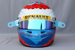 Helmet of Vitaly Petrov, Renault F1 Team