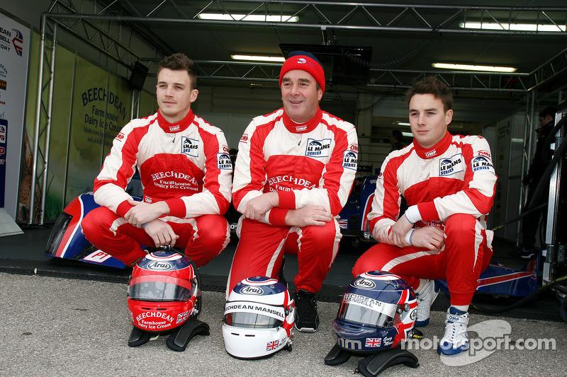 Leo Mansell, Nigel Mansell et Greg Mansell