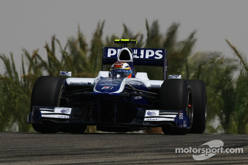 Bahrain 2010: Erster Grand-Prix-Start
