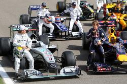 Nico Rosberg, Mercedes GP, Sebastian Vettel, Red Bull Racing
