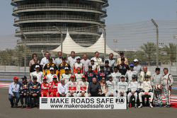 2010 groepsfoto met alle voormalig wereldkampioenen